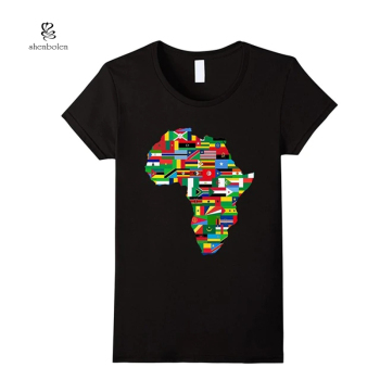 2019 Summer Custom African Kitenge Designs Tshirt Printing Casual Man Clothing Fashion Tshirt For Man Wholesale