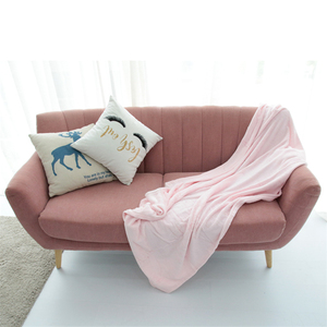 Top selling 100% polyester adults thicken plush bed flannel fleece print throw blanket