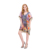 Bikini Cover Up Beach Cover Ups Chiffon Dress Printed Beachwear Kaftan