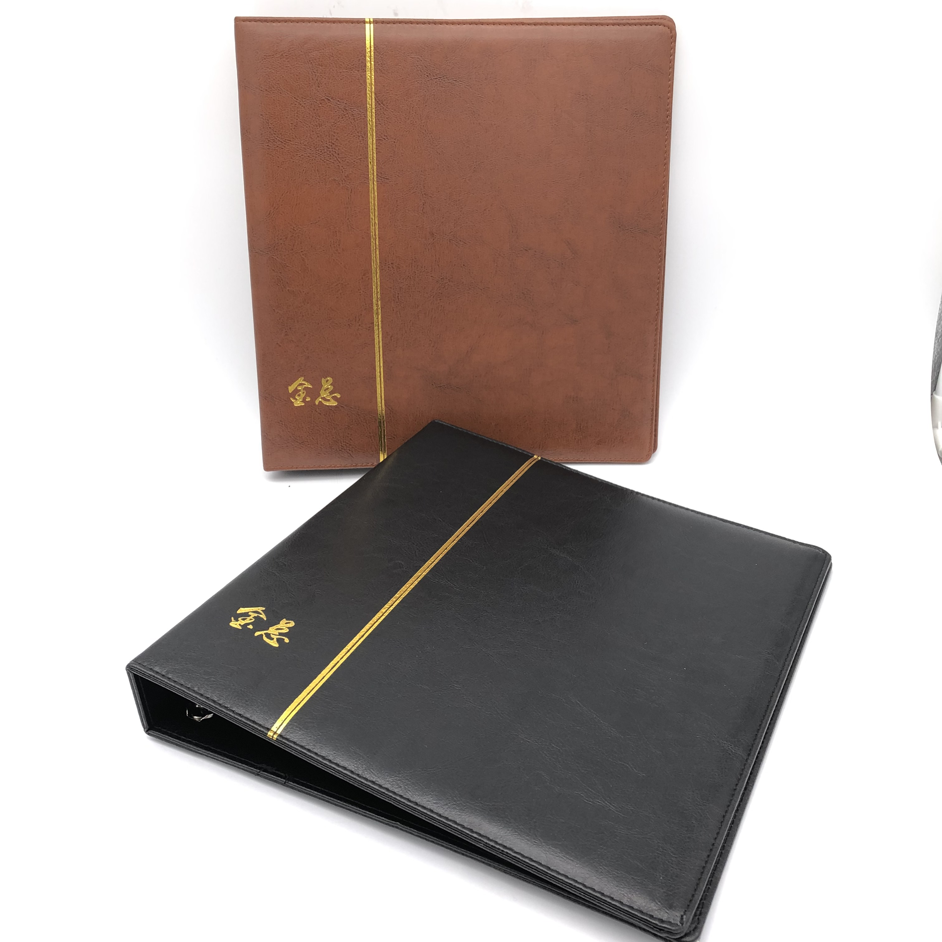 Black A4 Clipboard Marble Leather Business Meeting Document Clip Board Contract Folder