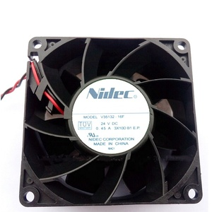 Nidec V35132-16F 0.45A 80*80*38MM (8038) 24V cooling inverter fans