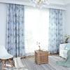For home bedroom curtains ready made modele de rideaux salon, home textile curtains and drapes printing latest fashion curtains
