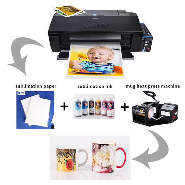 ceramic inkjet printer A3 for sublimation printing l1300