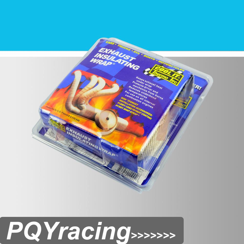 PQY-STORE COOL IT Thermo Tec Thermal Wrap,exhaust insulating
