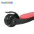 New foldable two color deck kids kick ride scooter with music and LED light