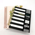 2020 Custom A4 Day Weekly Dairy Spiral Binding Stationery Planner Notebook Printing
