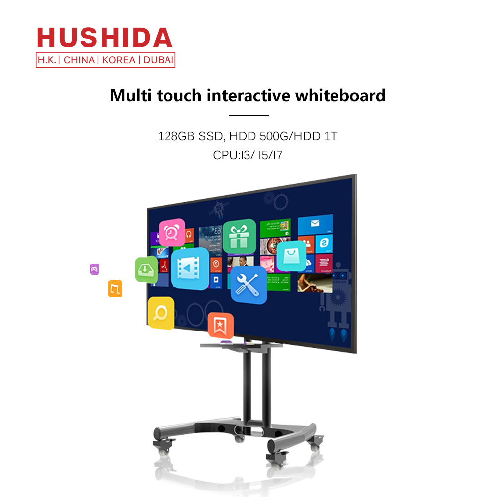 Factory supply muur gemonteerd 86 inch all in one pc computer compatibel met interactieve whiteboard