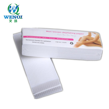 Remove hair 100pcs non-woven depilating paper