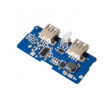5V 2A Power Bank Charger Module Charging Circuit Board Step Up Boost Power Supply Module 2A Dual USB Output 1A