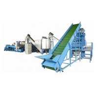 pet waste plastic recycle plants washing machinery recycling manufacturer