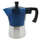 Stove Top Espresso Coffee Maker - Certified Food Safe Aluminium - 3 Cup