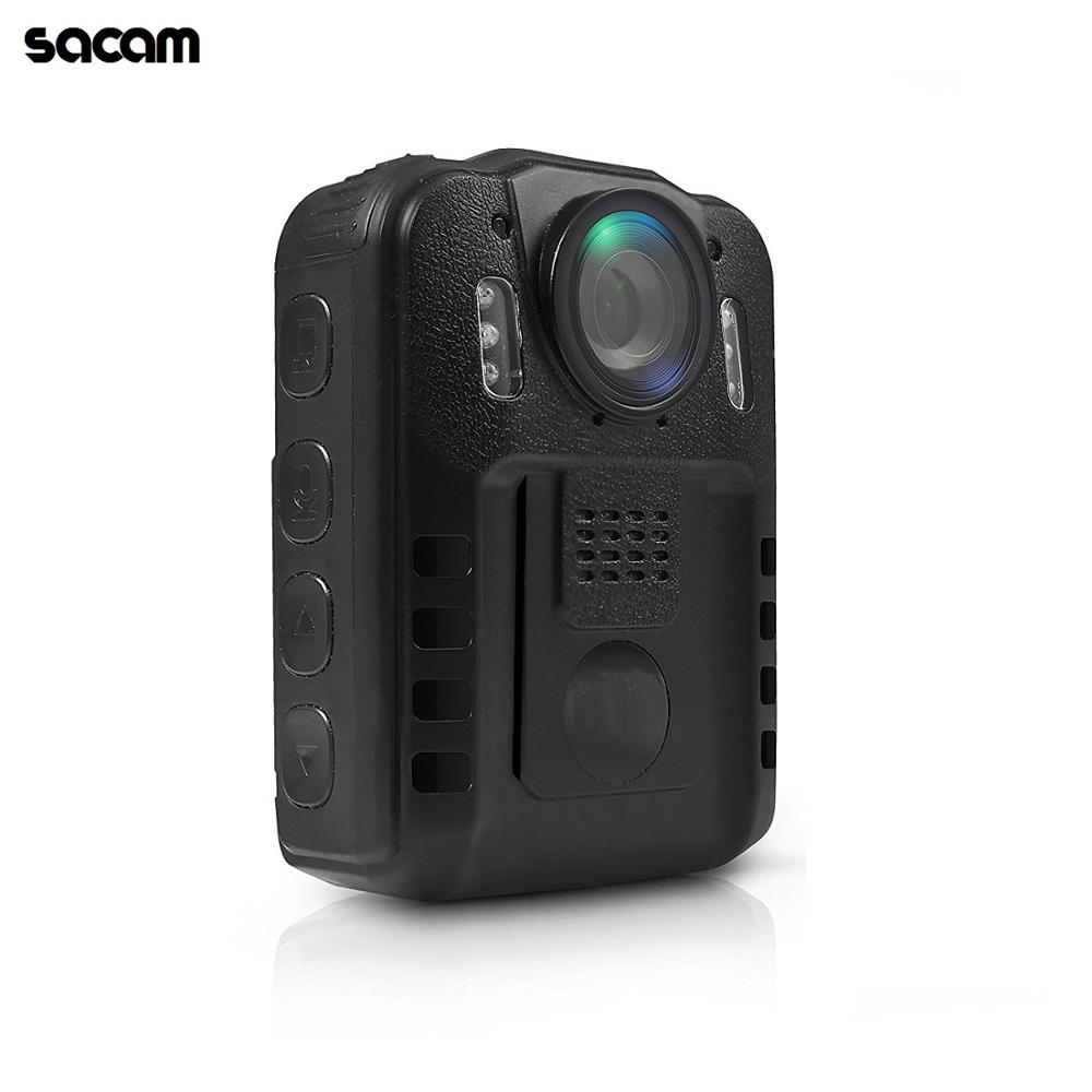 Portable Person Wireless Wearable Compact HD 1080P Body Worn <strong>Camera</strong>, IR Night Vision, Built-in Rechargeable Battery, LCD Display