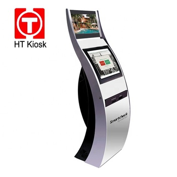 Hotel Check in kiosk self service terminal Self-Service Luxury Boutique Hotel Passport scanner