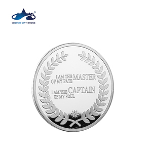 Custom made cheap price metal souvenir challenge silver dollar coin