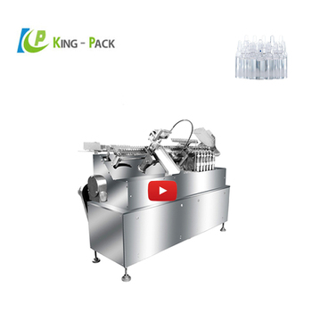1ml vial glass ampoule filling sealing machine