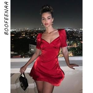 6a3914c7094 China red satin dress wholesale 🇨🇳 - Alibaba