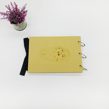 Large 8x10 Kraft Cover DIY Recollections Scrapbook Albums With 3 Ring Binding