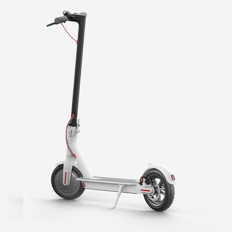 Light weight Folding 250w Electric Scooter 36V 8Ah Rear Motor Electric Scooter with 8.5inch Tyre