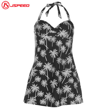 Ladies sexy plus size one piece crotchless Floral swimwear