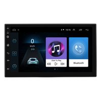 2019 7 Inch Android 7168C GPS Navigation Car Android 8.0 Wifi Bluetooth Radio Stereo
