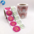 Custom Design Self Adhesive Printing Permanent Round Glossy Stickers Labels Paper