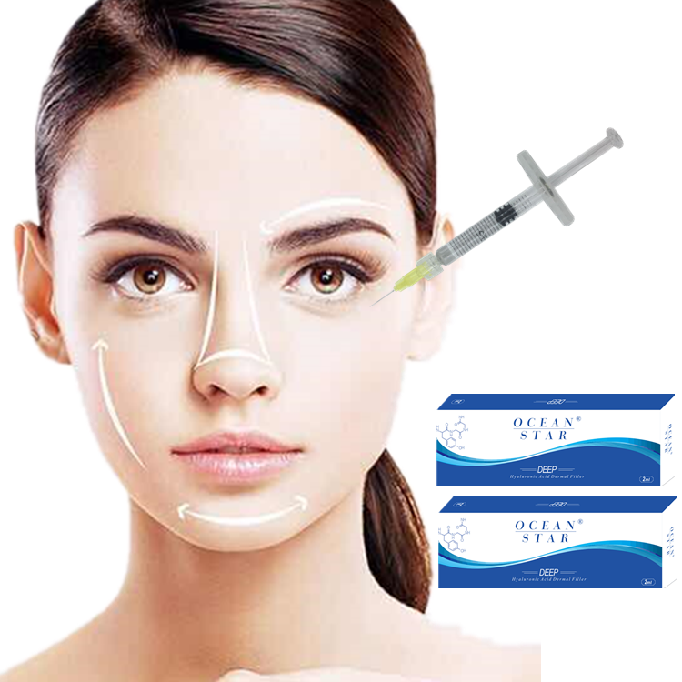 Safety pure hyaluronic acid korea dermal filler 1ml for deep wrinkles фото