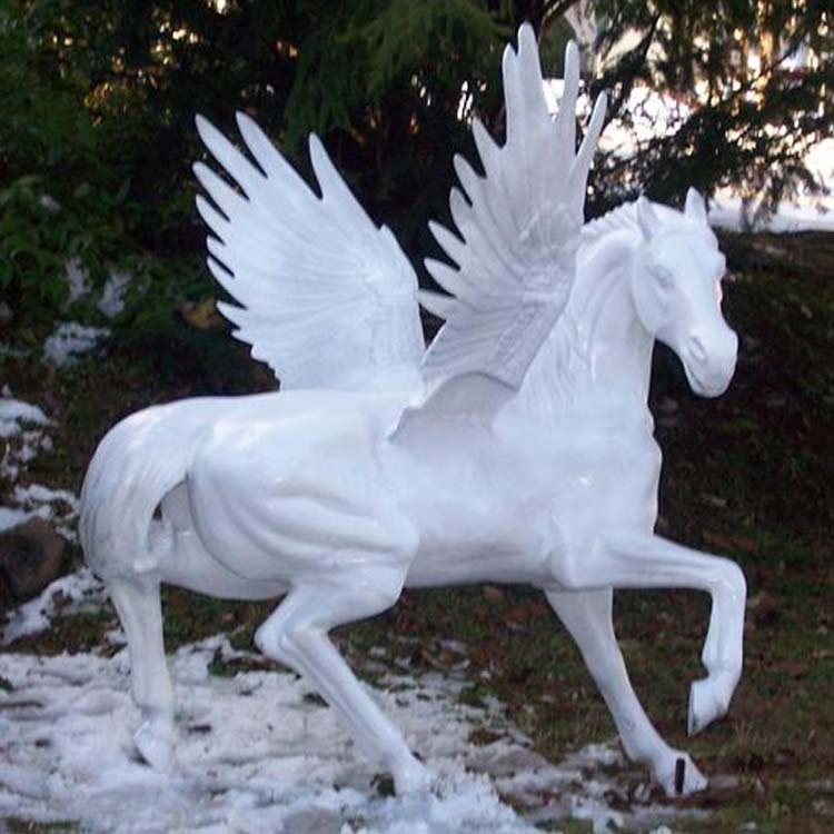 Christmas Horse Pictures.Christmas Outdoor Fiberglass Life Size Horse With Wings Statue For Decoration Buy Fiberglass Horse Statue Fiberglass Statue Life Size Fiberglass