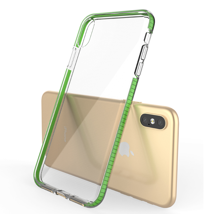 Hot selling fashion clear transparent tpu mobile phone case cover for iphone x / xr / xs max фото