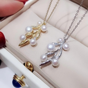 Wholesale pendant mounting natural crystal pendant jewelry 925 sterling silver pendant necklace in low price