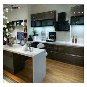 High quality artificial quartz stone kitchen countertop with competitive price