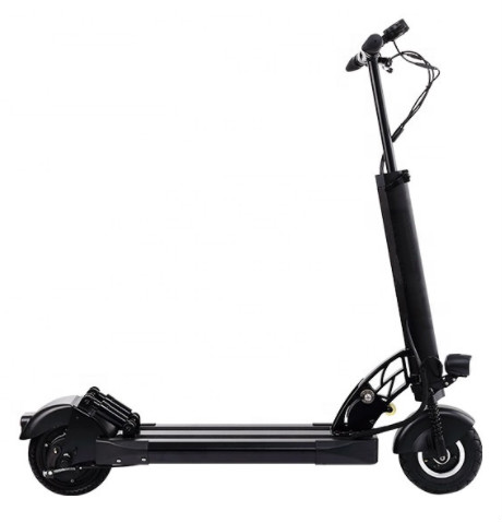 Europe warehouse 8 inch scooter electric dual motors Foldable 1000W off road electric scooter for adults with seat, Black
