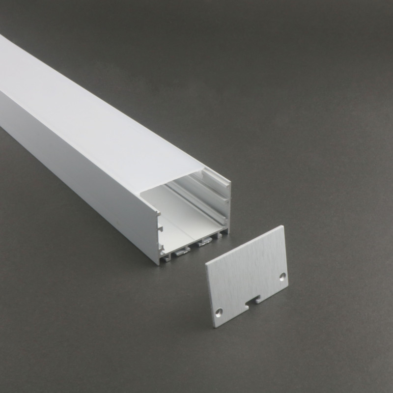 Linear light heat sink LS-108 LED profile <strong>aluminium</strong> 50mm