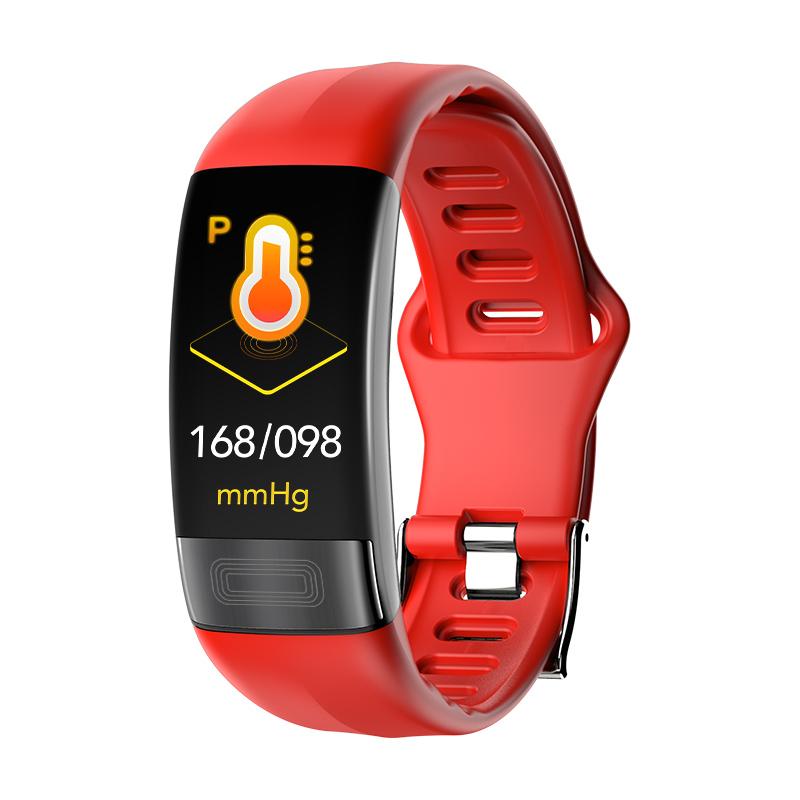 P11 PPG+ECG fitness activity tracker with ecg HR blood pressure ce rohs smartwatch/ smart bracelet/ smart band ecg