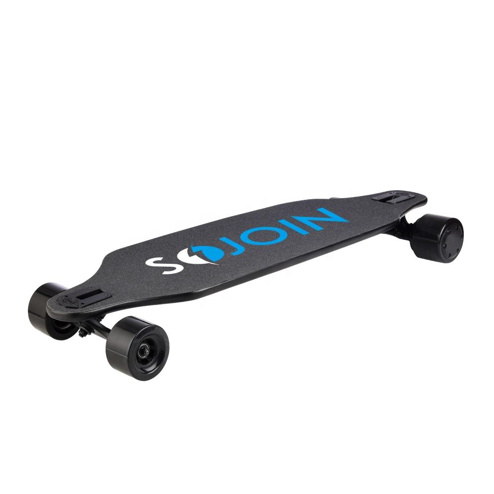 new model new design longboard 4 wheel Electric Skateboard With double motor 480w*2