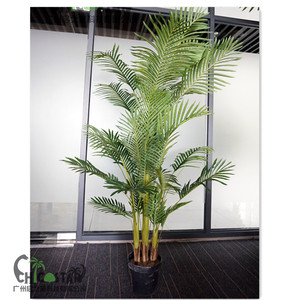 high simulation 3 trunks artificial Hawaii palm tree for hot sale