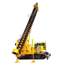 HWD8Y crawler ยาว pile helical pile driver power pile