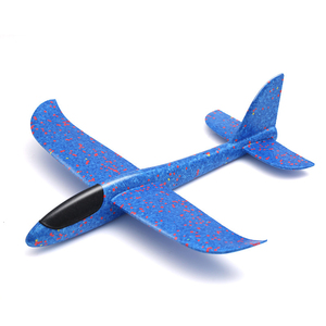 Kids Airplane Toy Hand Throwing Foam Plane Model Children Outdoor Flaying Glider Toys EPP Resistant Breakout Aircraft