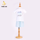 organic cotton plain white baby boys christening outfit toddler clothes clothing sets