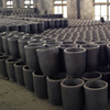 High purity graphite crucible for melting gold, silver, copper