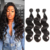 9A Brazilian Body Wave Virgin Hair Bundles with Frontal Human Hair Weave Bundles Ear to Ear Lace Frontal Closure