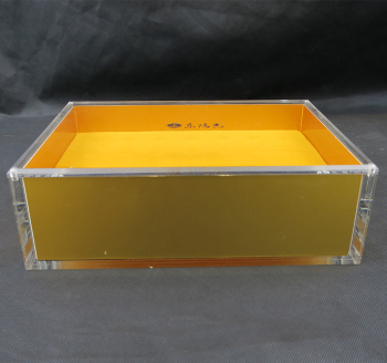 Custom Acrylic custom made gift boxes