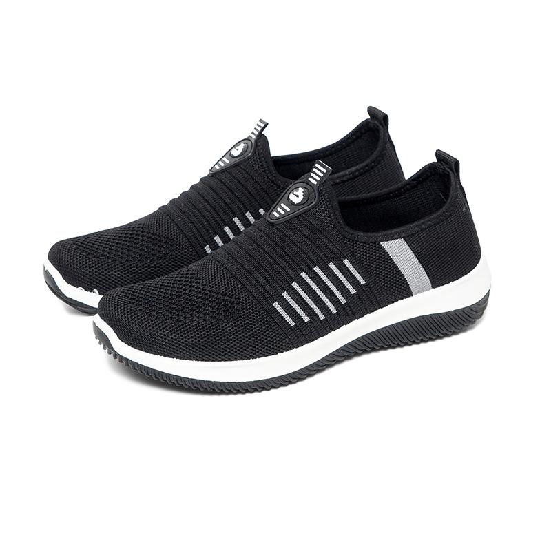 BaiRuiLun Low-cost High-quality Fashion Women Walking Shoes Lazy Casual Sneakers