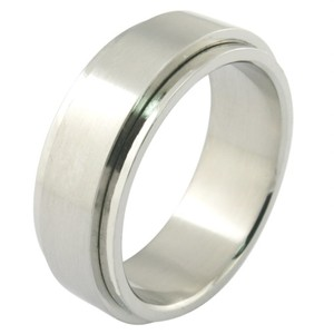 Wholesale Custom Engrave Laser Men Blanks Stainless Steel Men's Ring Gold and silver rings