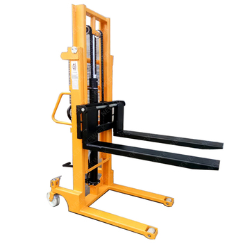 NEWEEK mini hand push forklift electric pallet stacker for sale