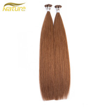 เกาหลี Pre Bonded I Tip Keratin Hair Extension Stick Tip Hair คุณภาพสูง
