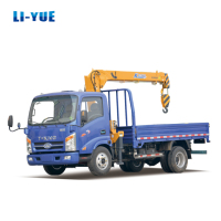 Hot Selling Dong Feng 3000 Kg Mini Lorry Truck Crane