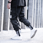 Breathable 100 Pants Cargo Men Killwinner 100 Polyester Multi Pockets Joggers Men Tide Brand Black Waterproof Loose Webbing Sports Function Cargo Pants