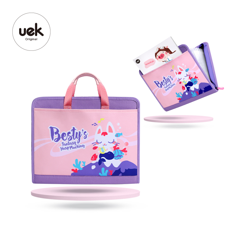 Uek Bambini Uso Quotidiano Del Fumetto Rosa Tutorial Bag Borsa