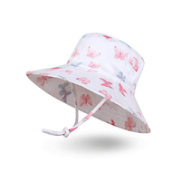 Custom Skin-friendly Adjustable Breathable Colorful Sunscreen Sun Protection Summer Bucket Hat for Children