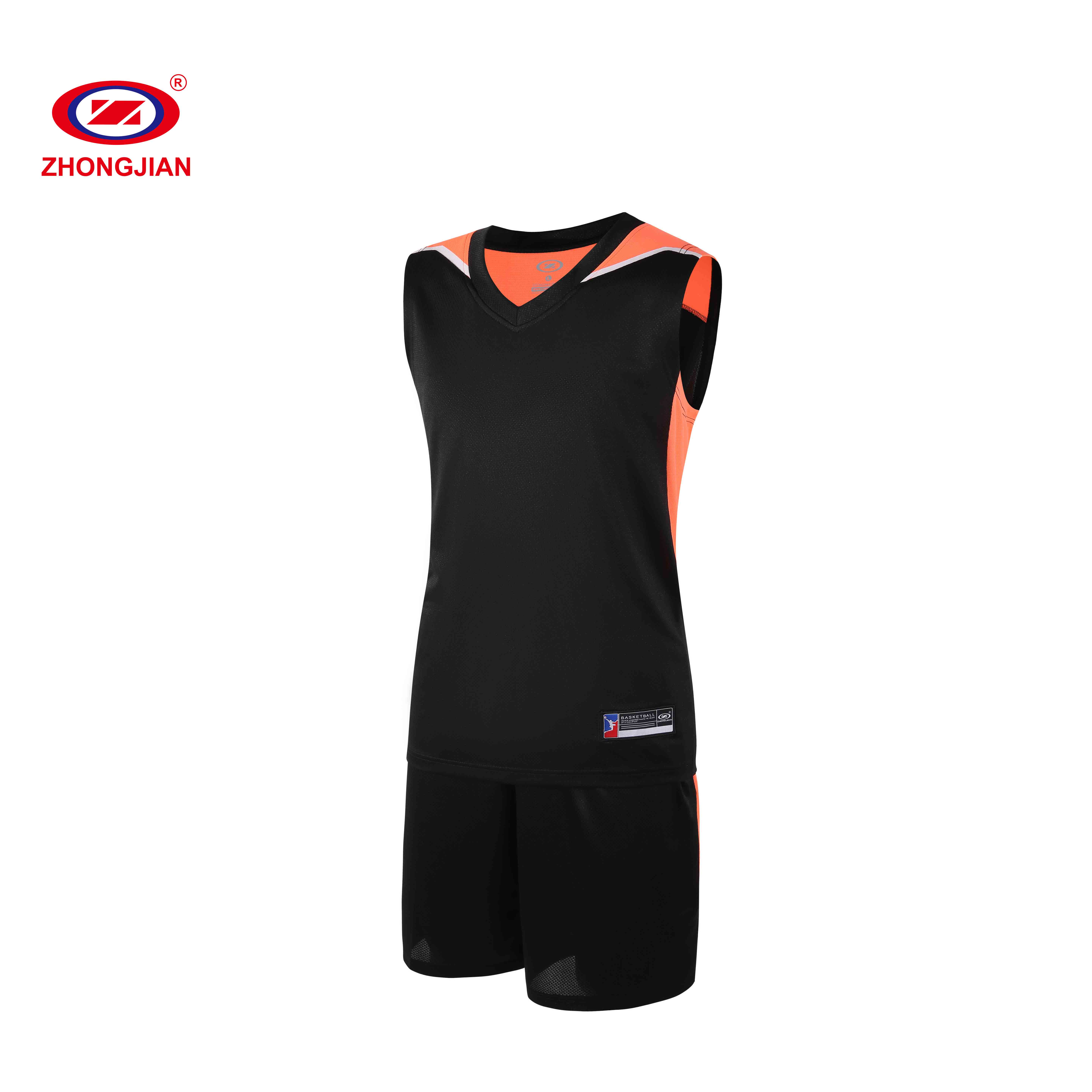 Gym trainingsanzug männer training tragen custom basketball jersey uniformen sets